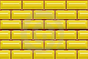 Yellow Tiles Stock Photos - Image: 20395413