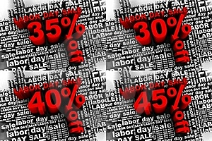 Labor Day Sale 2 Royalty Free Stock Image - Image: 20396786