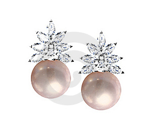 Earrings Royalty Free Stock Photography - Image: 20396797