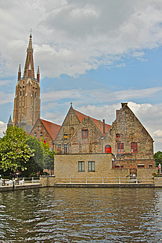 Scenic View Of Brugge Stock Photography - Image: 20396912