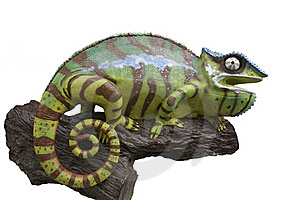 Chameleons Statue Royalty Free Stock Photography - Image: 20397967