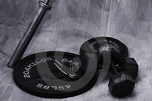 Fitness tool Stock Image