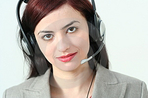 Woman Operator Royalty Free Stock Photos - Image: 2040958