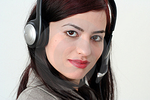 Woman Operator Stock Images - Image: 2040994