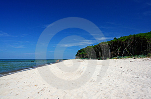 Paradise Beach, Intensive Colors Stock Photo - Image: 2043020