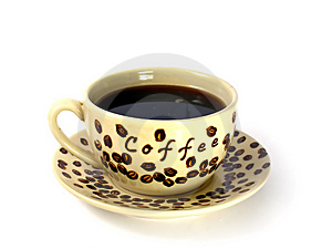 Cup With Black Coffee Stock Photos - Image: 2043383