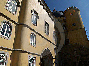 Pena Palace In Portugal Stock Image - Image: 20400791