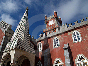 Pena Palace In Portugal Royalty Free Stock Photography - Image: 20400837