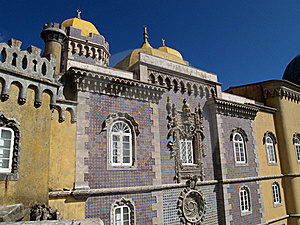 Pena Palace In Portugal Royalty Free Stock Photos - Image: 20400838