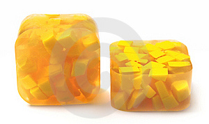 Yellow Handmade Soap Stock Photo - Image: 20401160