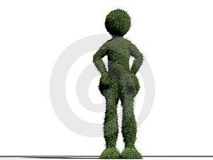 Grass Man Stock Image - Image: 20405441