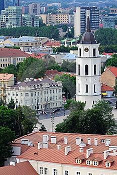 City Center Panorama Stock Photo - Image: 20407400