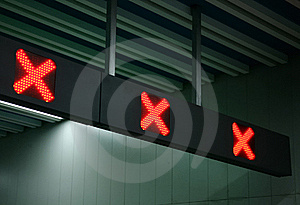 Forbidden Signal Light Royalty Free Stock Images - Image: 20415569