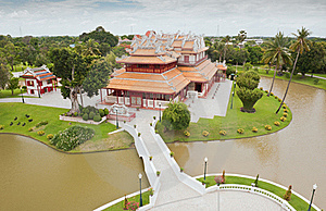 Bang Pa-In Palace Stock Photos - Image: 20415653