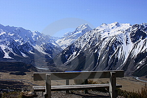 Mt Cook Over Seat Stock Photography - Image: 20415802