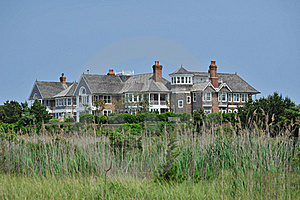 Summer Home On The Beach Stock Images - Image: 20416514