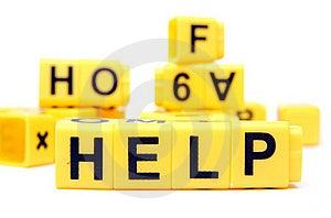 Help Royalty Free Stock Photo - Image: 20416585