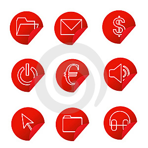 Web Icons Stock Photography - Image: 20417182