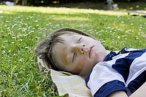 Sleeping Boy Stock Photo - Image: 20417910