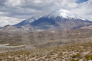 Volcanos At Andes Stock Images - Image: 20419204