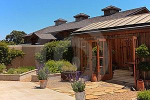 California Vineyard And Winery Stock Image - Image: 20420391