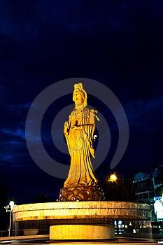 Guan Yin Image, Goddess Of Mercy. Thailand Royalty Free Stock Photography - Image: 20423557