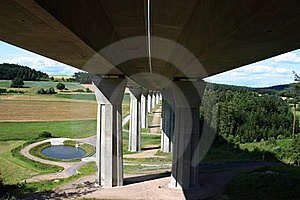 Klumbachtal Brücke Stock Photo - Image: 20423860