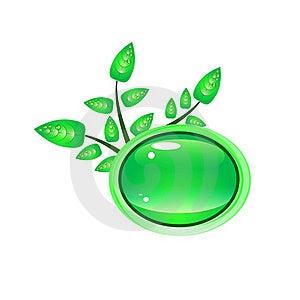 Green Banner Royalty Free Stock Photos - Image: 20425858