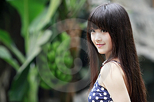 Asian Beauty In Summer Stock Photography - Image: 20426052