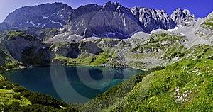 Coburger Hütte Alpen Royalty Free Stock Image - Image: 20430096