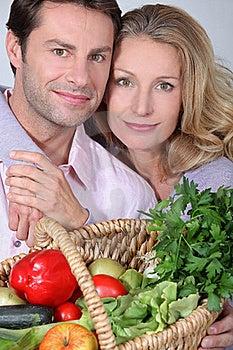 Wife Puts Arms Around Husband. Royalty Free Stock Photos - Image: 20430808