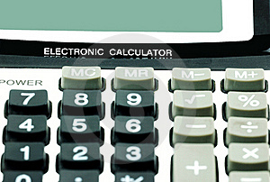Caculator Royalty Free Stock Photo