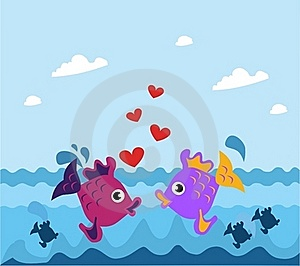 Fishes Royalty Free Stock Photo - Image: 20431865