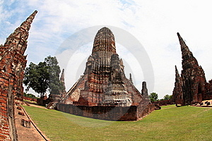 Khmer Temple In Ayutthaya Royalty Free Stock Photo - Image: 20431895