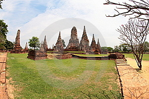 Khmer Temple In Ayutthaya Royalty Free Stock Photography - Image: 20431897