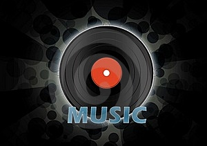 Vinyl Disc Wallpaper Royalty Free Stock Photo - Image: 20432395