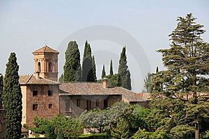 Old Building In Alhambra Stock Photography - Image: 20434552