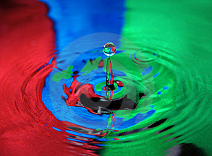 Water Drop Royalty Free Stock Images - Image: 20437119