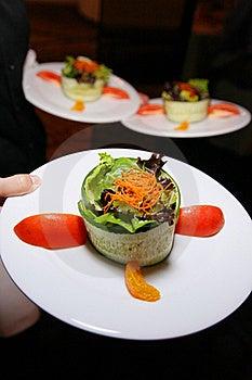 Fancy Appetizer Salad Stock Image - Image: 20437181