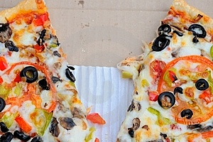 Half Eaten Pizza Stock Images - Image: 20437984