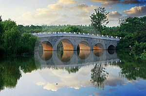 Arch Bridge Royalty Free Stock Photos - Image: 20438708