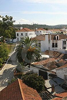 Small Historical European Town Obidos Stock Photography - Image: 20439402