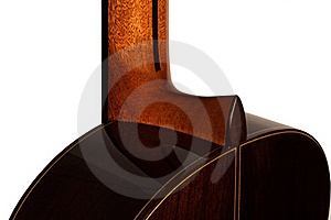 Close-up Of A Classical Guitar Stock Image - Image: 20439621