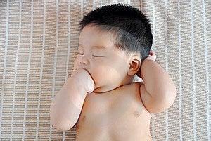 Baby Lying Royalty Free Stock Photography - Image: 20440257