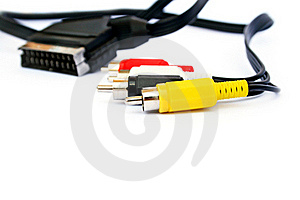 Audio And Video Jack Royalty Free Stock Photography - Image: 20441997