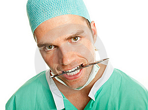 Crazy Doctor Royalty Free Stock Images - Image: 20443549