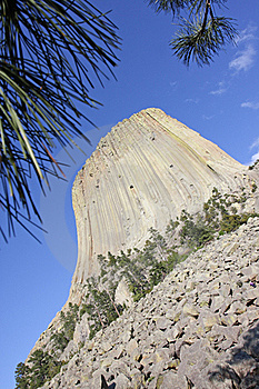 Devils Tower National Monument In Wyoming Royalty Free Stock Photo - Image: 20448585