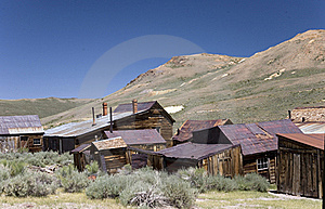 Ghost Town Royalty Free Stock Images - Image: 20452869