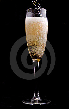 Wine Being Poured Into A Glass Stock Photography - Image: 20458212