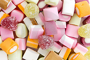 Background Of Dolly Mixture Sweets Royalty Free Stock Images - Image: 20458449